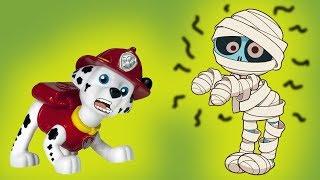 ДОМ СТРАШИЛОК! Мультики с игрушками Щенячий патруль. Мультфильмы для детей, новые серии 2018
