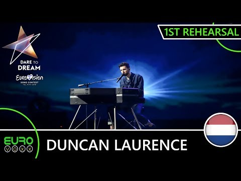 THE NETHERLANDS EUROVISION 2019 1ST REHEARSAL (REACTION) : Duncan Lawrence - 'Arcade'