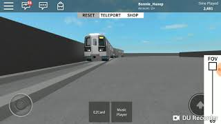 Subway train R110 in ROBLOX (android & ios, PC & MAC)