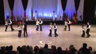 "Junior Shag Dance Team ""Boogie Down South"" US Open 2014"