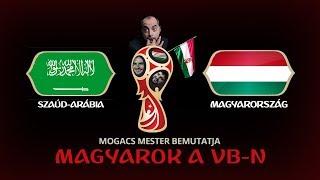Szaúd-Arábia - Magyarország I LIVE I Magyarok a VB-n