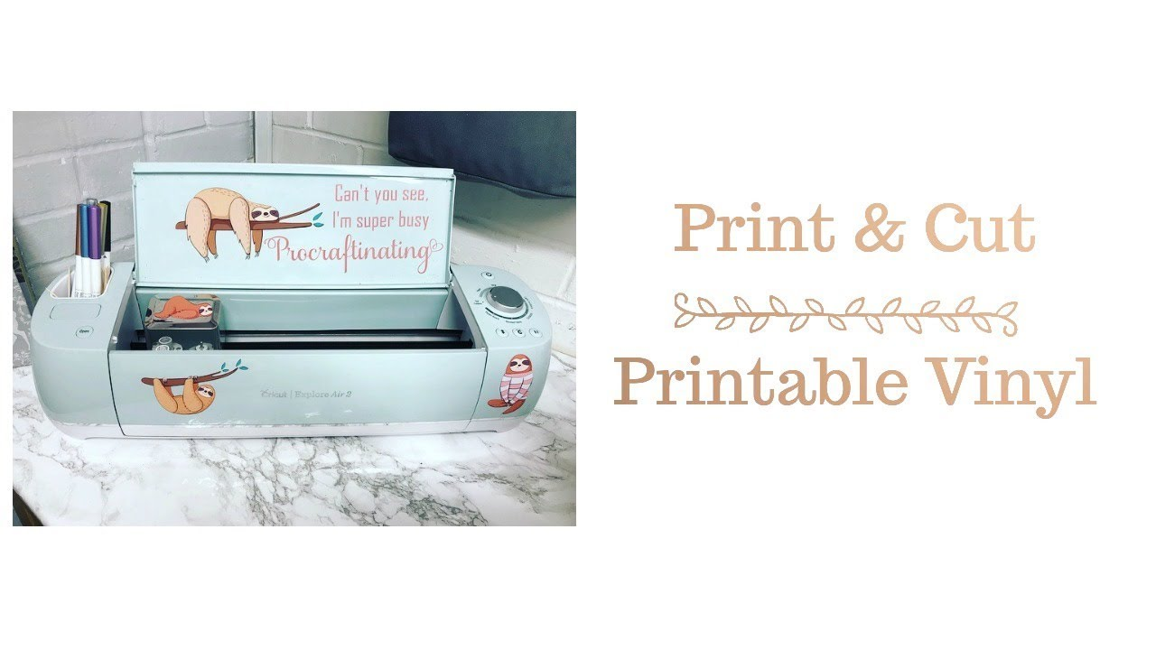 graphic about How to Use Printable Vinyl identified as Cricut How in direction of employ Cricut Print Reduce - Printable Vinyl