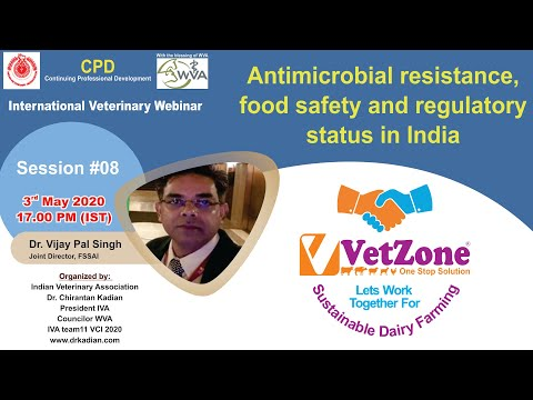 Antimicrobial Resistance, Food Safety & Regulatory Status In India