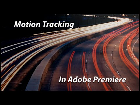[Adobe Premiere] Simple Motion Tracking