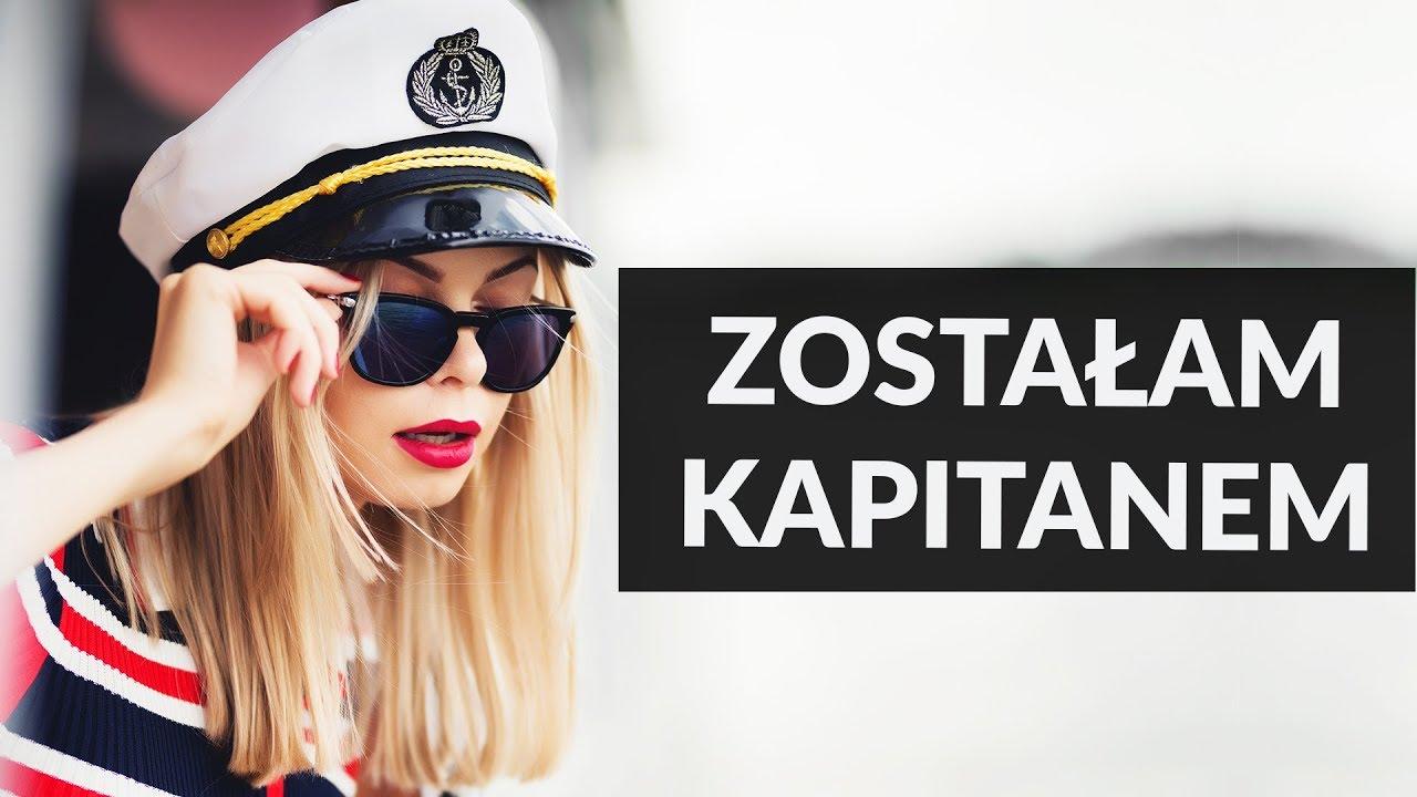 Zostałam kapitanem statku!