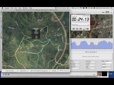 Crosser Runde Harburger Berge Garmin GPS Track Ascent