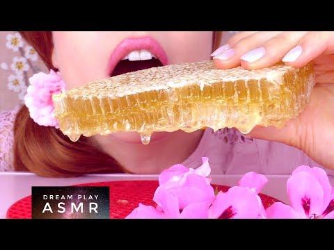 ★ASMR [german]★ EXTREME MUKBANG 🐝raw Honeycomb & 🍣Sushi eating | Dream Play ASMR