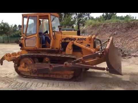 Bulldozer Fiat Allis AD 7 C