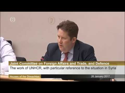 Joint Committee on Foreign Affairs, Trade & Defence with UNHCR