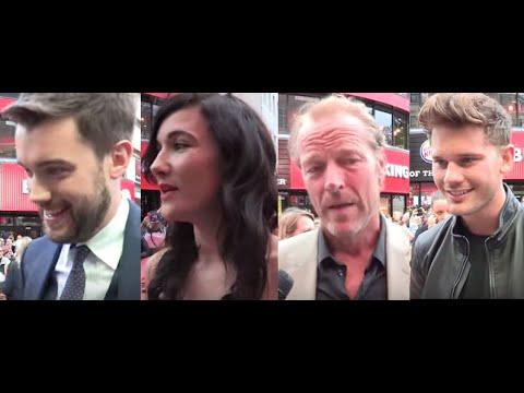 The Bad Education Movie – Interviews Jack Whitehall, Sarah Solemani, Iain Glen, Jeremy Irvine