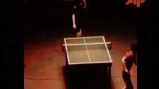 1977 World Table Tennis Championsips Birmingham Final : Mitsuru Kohno Vs Guo Yue Hua.flv