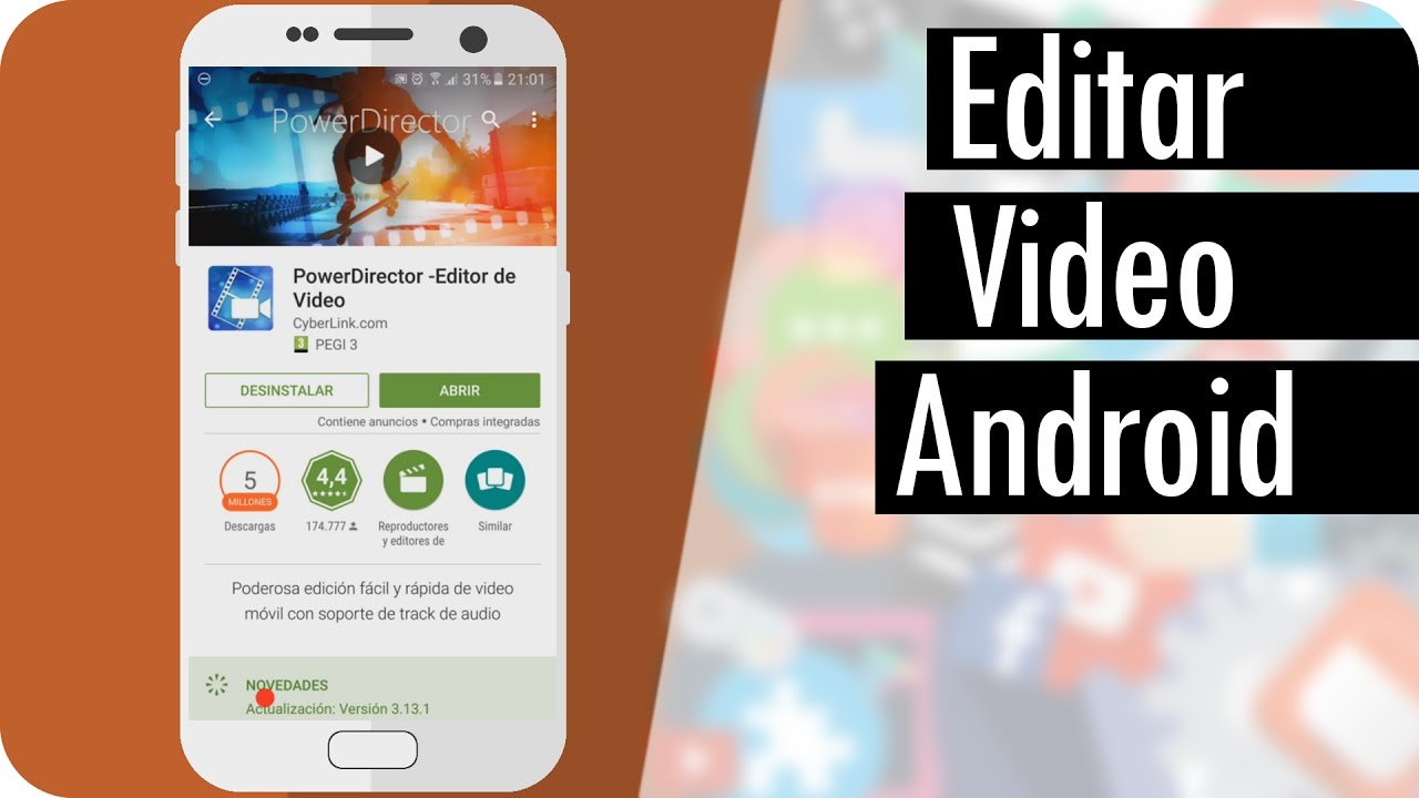 Aplicaciones para editar videos apps para editar videos - Para disenar fotos ...