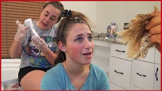 Girl's Hair Falls Out After Having Ombre Done By Sister Prank