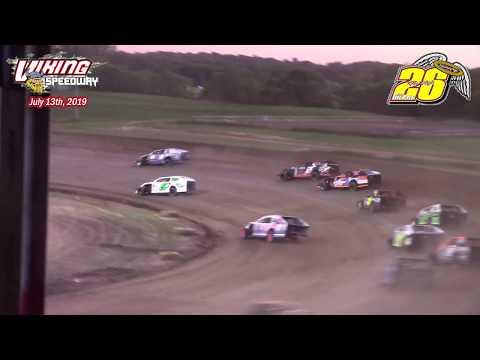 Viking Speedway WISSOTA MW Modified A-Main (Bob Gierke Memorial) (7/13/19)
