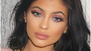 Kylie Jenner Blue Eye Makeup Tutorial