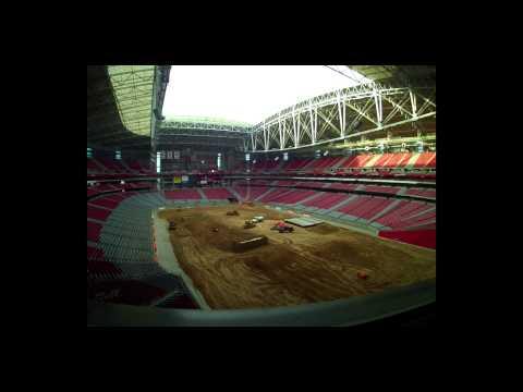 SST At University Of Phoenix Stadium Timelapse