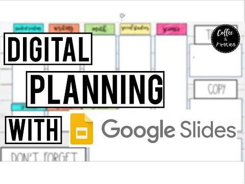 Digital Lesson Planning Using Google Slides  /  How To Make Stickers