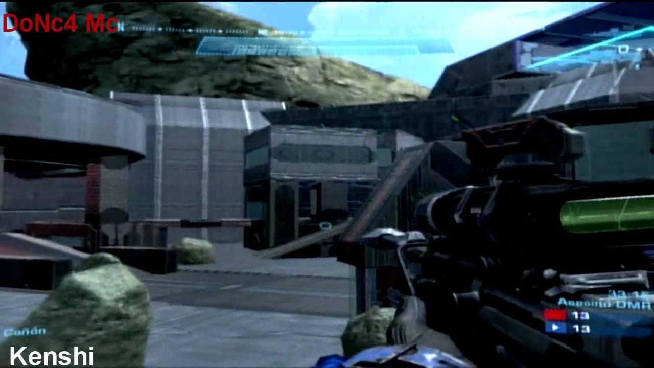 Halo Reach [Gameplay - Kenshi [Rape] Vs II Alpha II - Sanctuary
