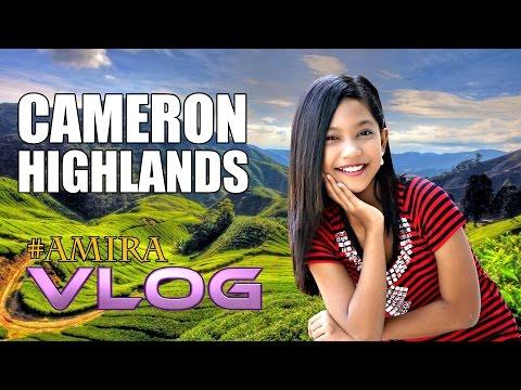 Amira VLOG - Cameron Highlands | Amazing Place In Malaysia