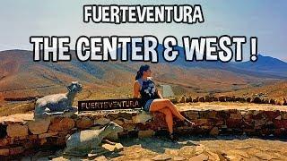TRAVEL VLOG - FUERTEVENTURA - Exploring the center and Ajuy !