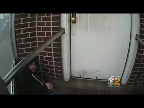 Body cam footage captures encourter with Chelsea bombing suspect