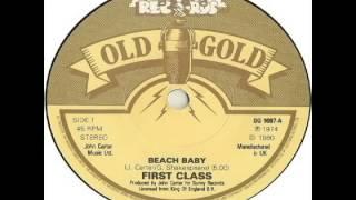 First Class - Beach Baby (1974)