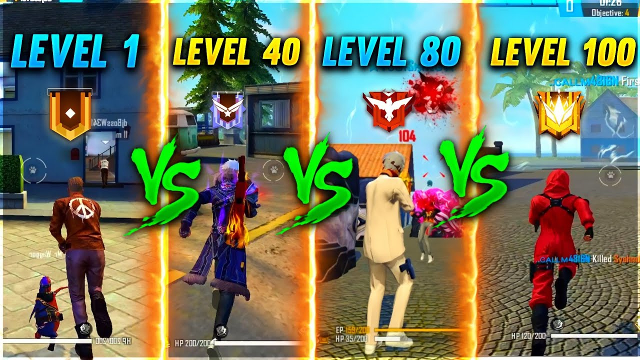Level 1 to Level 90 😳❤️ Journey of Every Free Fire Player 🔥- Dj Adam to Hip Hop #shorts