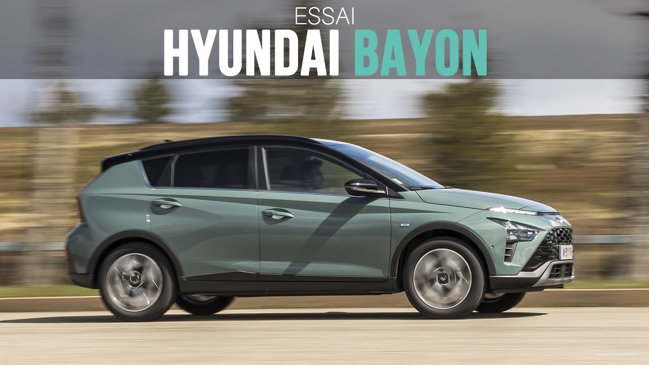 Download Essai Hyundai Bayon (2021) : au volant du petit SUV urbain