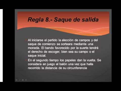 Las 17 reglas del futbol youtube for 5 reglas del futbol de salon