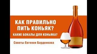 Как правильно пить коньяк? Из каких бокалов пить коньяк?