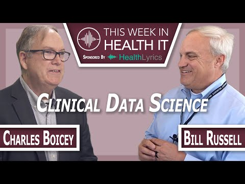 Become a Clinical Data Scientist with Charles Boicey
