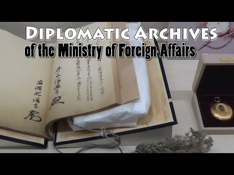 TOKYO.【Government】 Diplomatic Archives .The Ministry of Foreign Affairs of Japan