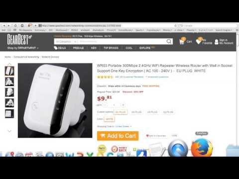 wireless repeater tutorial doovi. Black Bedroom Furniture Sets. Home Design Ideas