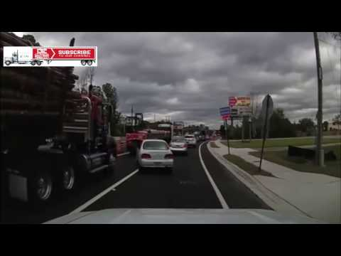 North America Truck crash (New Videos) 1080p