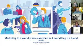 Marketing in a World where everyone and everything is a brand | IIM Calcutta Alumni Dialogue.