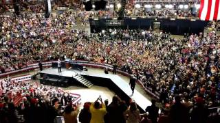 President Trump AMAZING Entrance to Rally in Nashville! (3-15-17)
