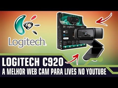 Logitech C920 Pro HD 1080P - A MELHOR WEBCAM PARA LIVES DO YOUTUBE E FACEBOOK