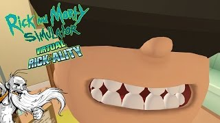 "Rick and Morty Virtual Rick-ality Gameplay - ""COOLEST VR EXPERIENCE YET!!!"" HTC Vive Let"