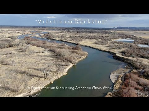 SOLD! Nebraska Hunting Land For Sale | Midstream Duckstop | Melbeta, NE