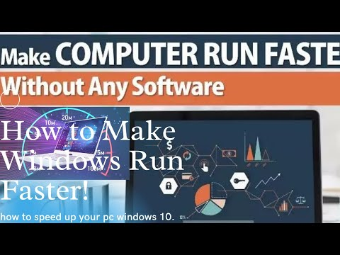 How to Make Windows Run Faster! Learn Speed up your Pc Laptop speed Fast