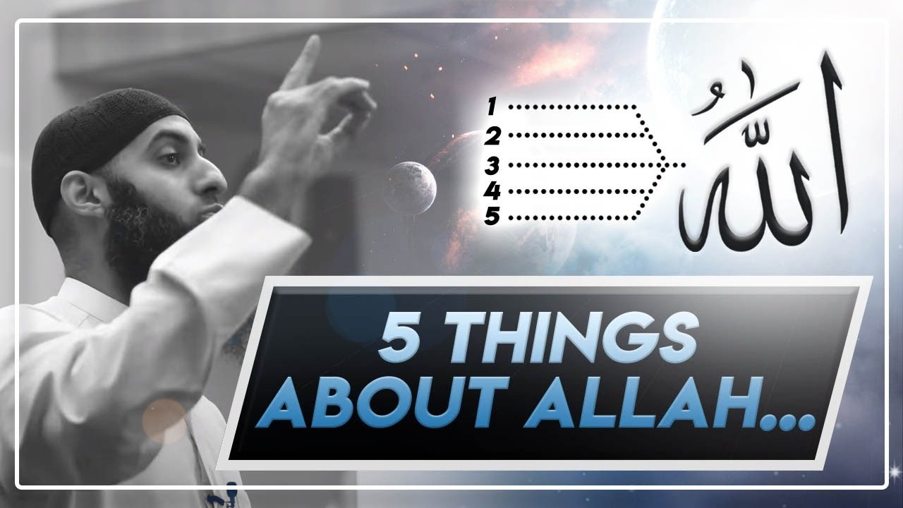 #3 Five Things You Didn't Know About Allah!    Tawheed Tuesdays
