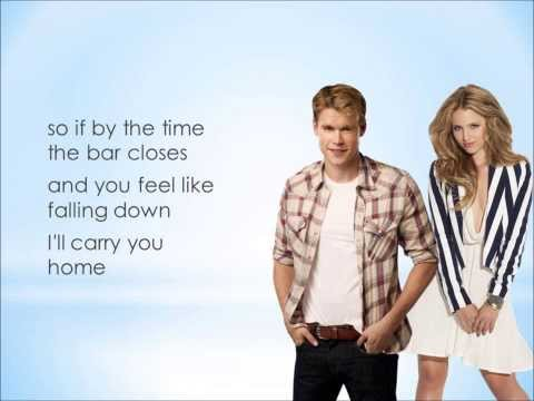 Glee - We Are Young (Lyrics)
