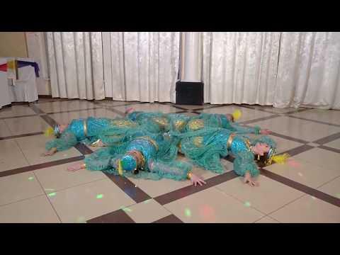 Узбекский Хорезмский танец, коллектив АЗХАР, Цветочная вечеринка 26.05.19