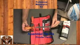 Oregon chain saw  chain and bar Professional Maintenance kit