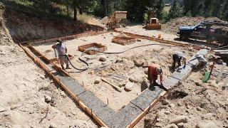 Concrete Footings & Foundaiton
