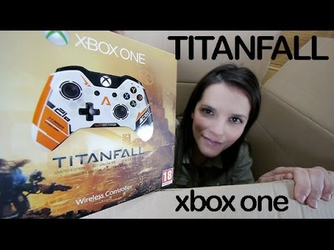 Titanfall mando special edition Xbox One unboxing