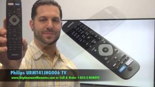 PHILIPS URMT41JHG006 TV Remote…