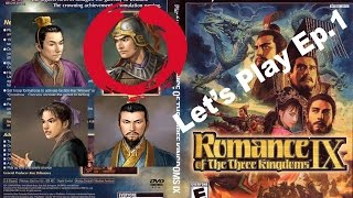 Romance of The Three Kingdoms IX Let's Play Ep.1 (Divided Wei)