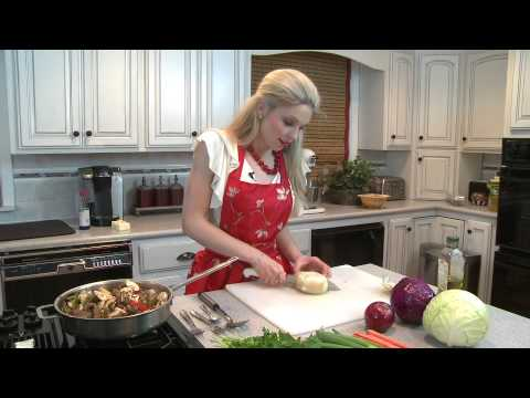 Organic Cooking with Katherine - Yake Soba