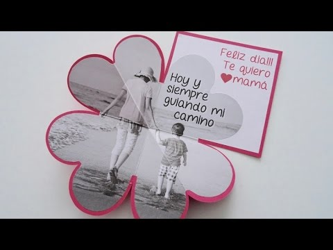 Manualidad: Tarjeta Corazòn Imitaciòn Origami - Hogar Tv  por Juan Gonzalo Angel